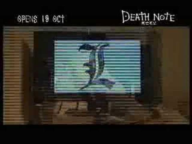 画像: Death Note Movie Trailer youtu.be