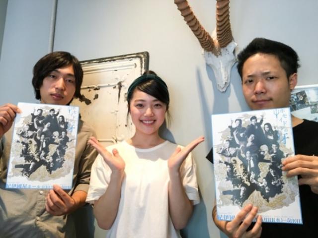 画像: 左:山口健人 真ん中:小槙まこ 右:アベラヒデノブ