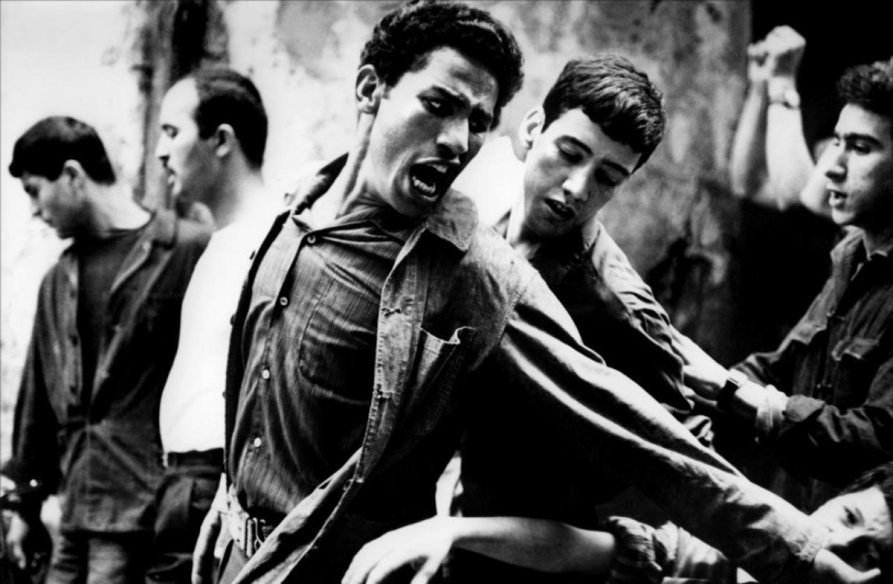画像: http://www.nientepopcorn.it/intolerance-grandi-autori-grande-cinema/pontecorvo-la-battaglia-di-algeri/