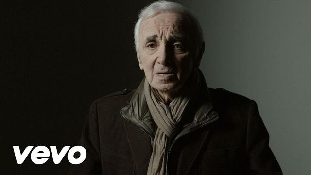画像: Charles Aznavour - Avec un brin de nostalgie youtu.be