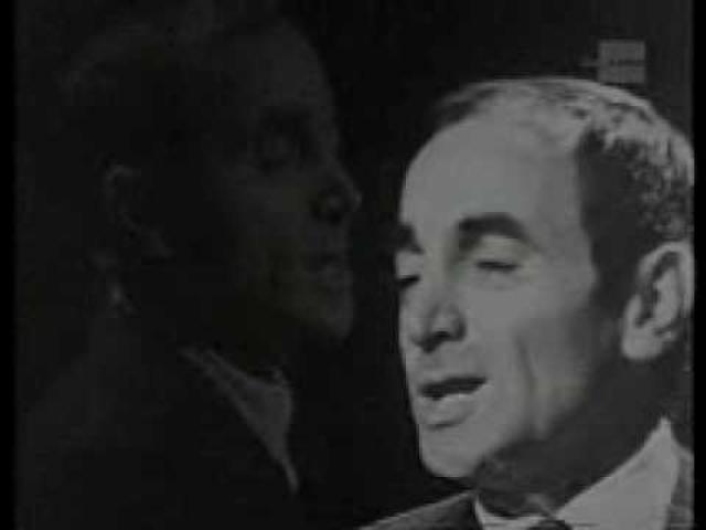 画像: Charles Aznavour La Bohème youtu.be