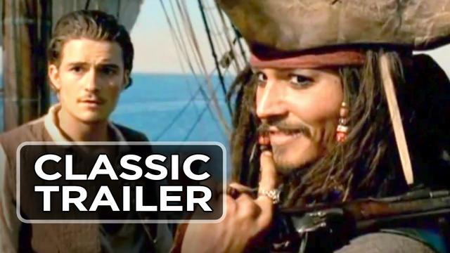 画像: 『パイレーツ・オブ・カリビアン』 Pirates of the Caribbean: The Curse of the Black Pearl Official Trailer 1 (2003) HD youtu.be
