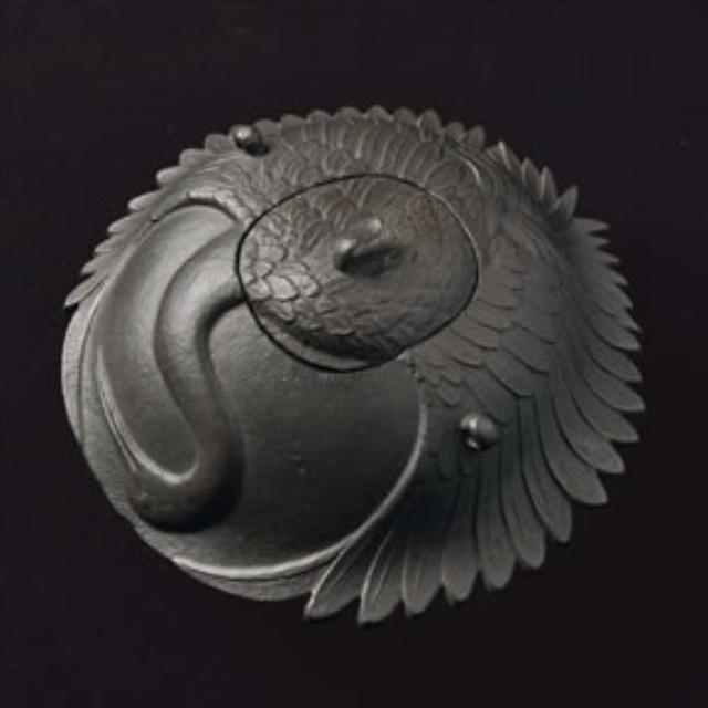 画像: 「鶴の釜」 大西浄清作 江戸時代 大西清右衛門美術館