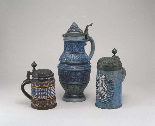 画像: 《ドイツ 塩釉ビールマグ》 18-19世紀 アサヒビール大山崎山荘美術館蔵