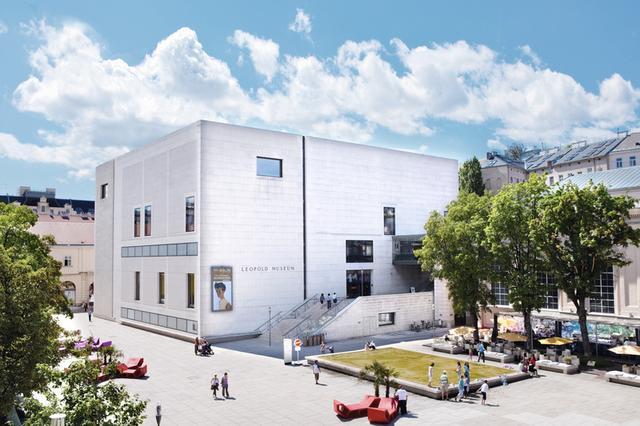 画像: Leopold Museum © Leopold Museum, Wien, Foto: Julia Spicker