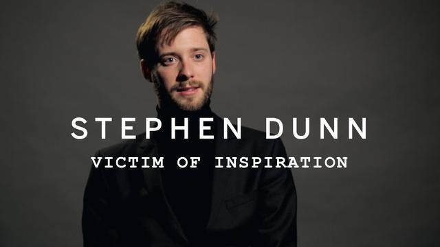 画像: STEPHEN DUNN | Victim of Inspiration youtu.be