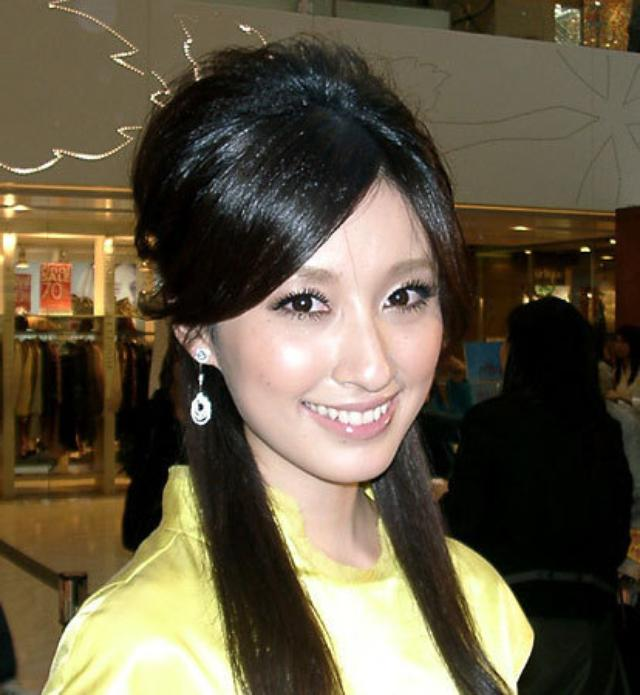 画像: 台湾で高い知名度を誇る日本人女優の田中千絵さん http://wahuunews.blog.jp/archives/1291092.html