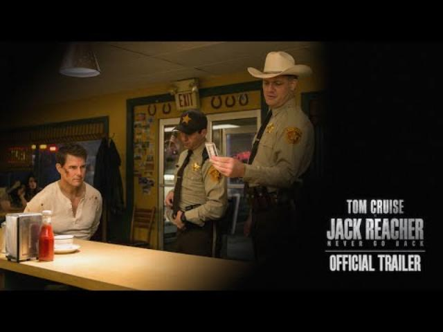 画像: Jack Reacher: Never Go Back Trailer (2016) - Paramount Pictures youtu.be