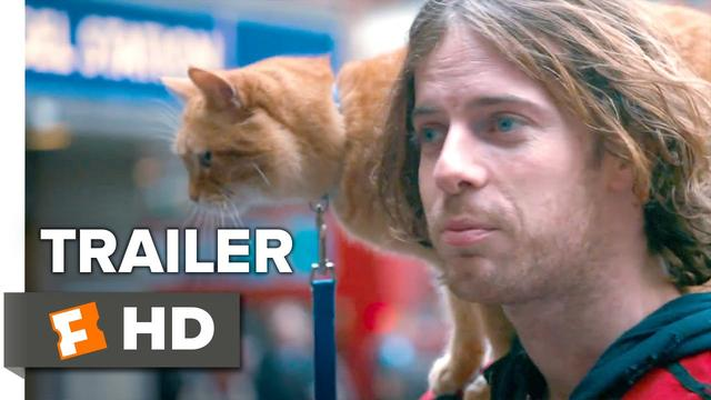 画像: A Street Cat Named Bob Official Trailer #1 - Joanne Froggatt, Luke Treadaway Movie HD youtu.be