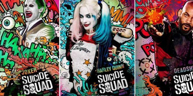 画像: New Graffiti and Comic Book Inspired Suicide Squad Character Posters Released