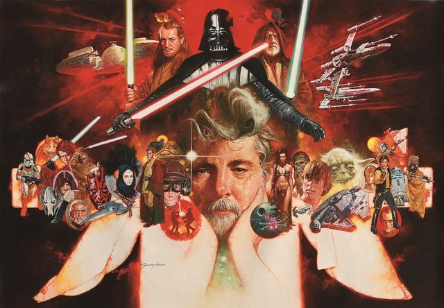 画像: マニユエル・サンジユリアン「ジョージ・ルーカスの世界」⑥&TM Lucasfilm Ltd.