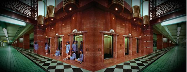 画像: やなぎみわ《案内嬢の部屋B1》1997年