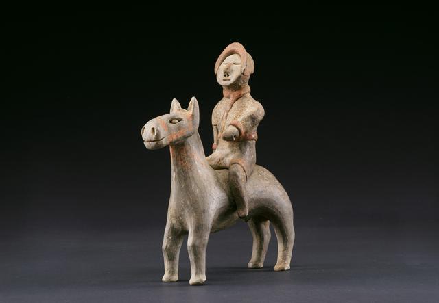 画像: 《騎馬俑》咸陽市文物考古研究所蔵 ©陝西省文物局・陝西省文物交流中心