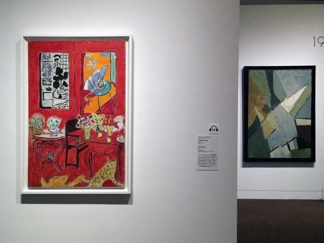 画像: 左:アンリ・マティス 《大きな赤い室内》 1948年 油彩、カンヴァス photo©cinefil