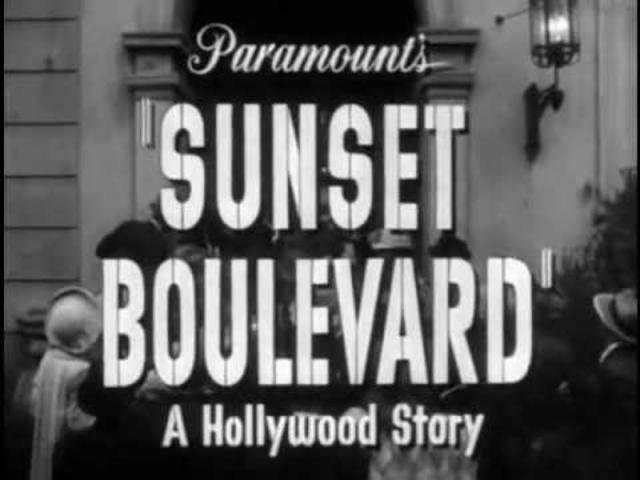 画像: Sunset Boulevard (1950) trailer youtu.be