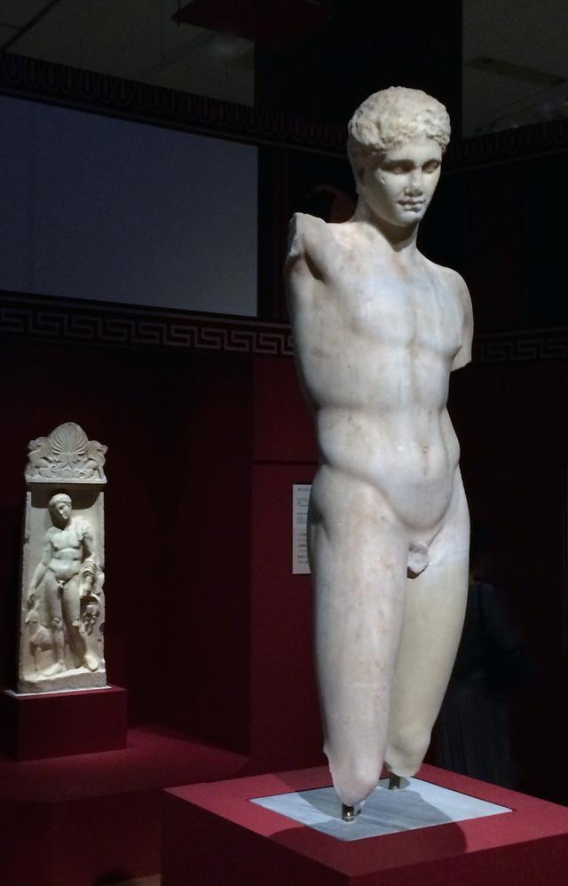 画像: 競技者像 前2世紀後半 アテネ国立考古学博物館蔵 photo©cinefil