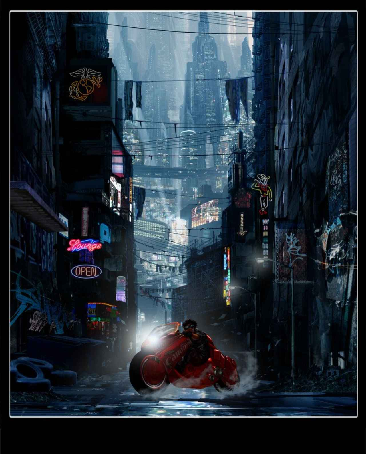 画像1: http://bloody-disgusting.com/movie/3396887/chris-evans-joseph-gordon-levitt-tetsuo-akira-concept-art/