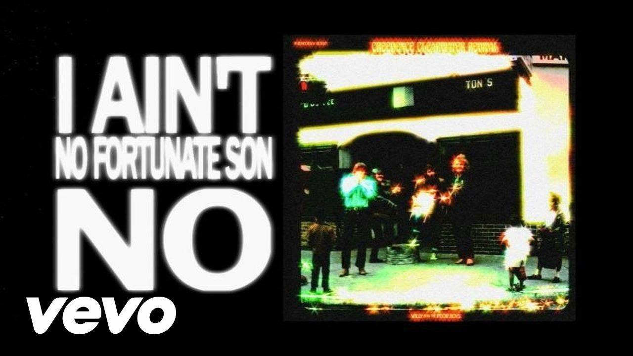 画像: Creedence Clearwater Revival - Fortunate Son (Lyric Video) youtu.be