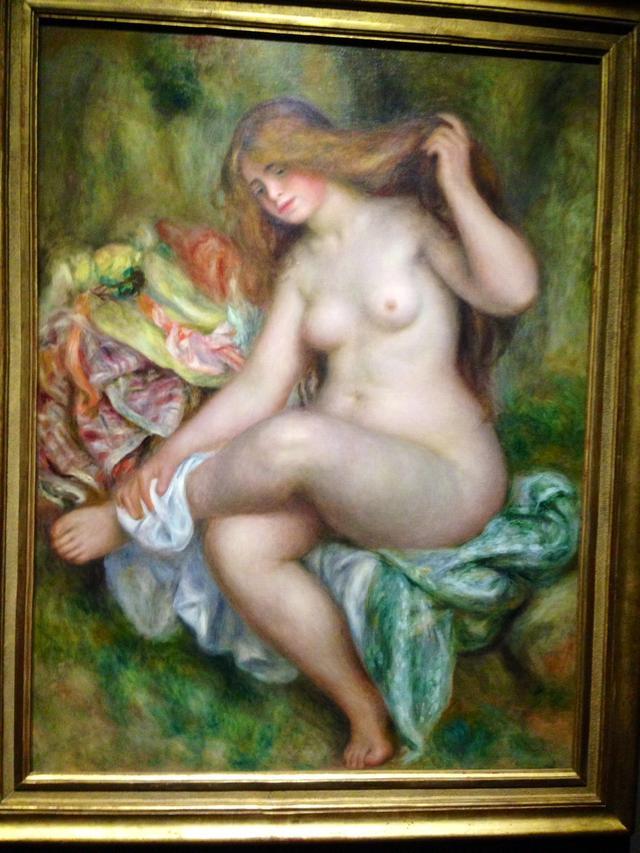 画像: ピエール・オーギュスト・ルノワール 《座る浴女》1903年-1906年Bequest of Robert H.Tannahill