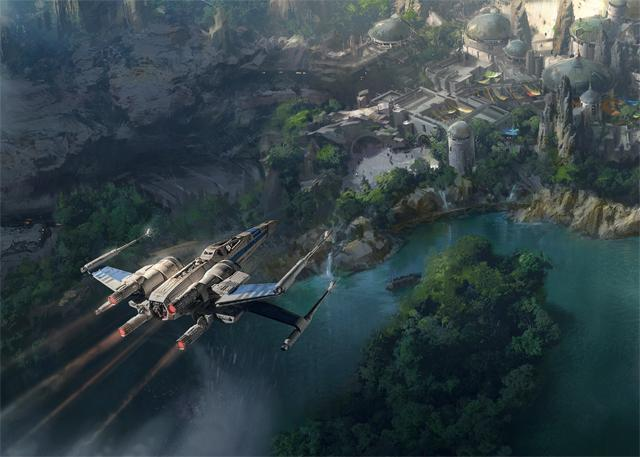 画像: Star Wars Land Sneak Peak Released by Disney