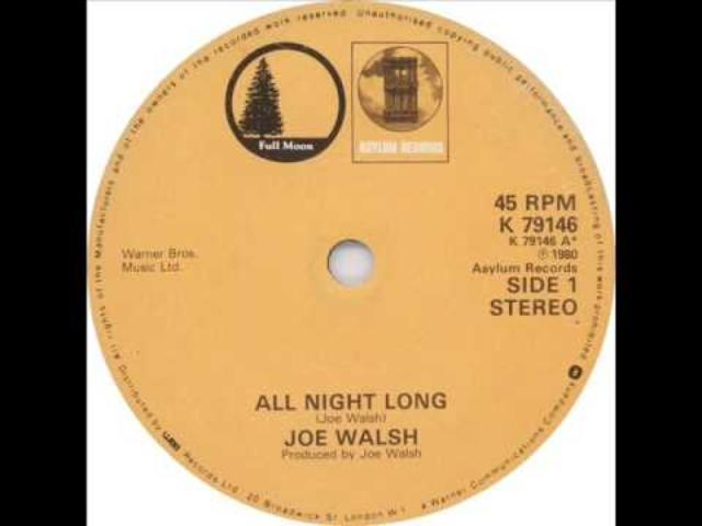 "画像: Joe Walsh - ""All Night Long"" youtu.be"