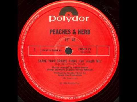 画像: Peaches & Herb Shake Your Groove Thing youtu.be