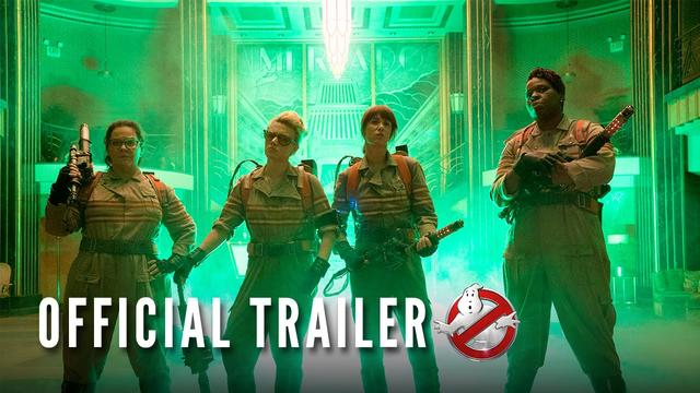 画像: GHOSTBUSTERS - Official Trailer (HD) youtu.be