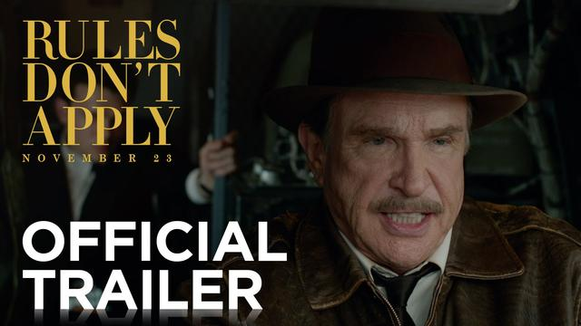 画像: Rules Don't Apply | Official Trailer [HD] | 20th Century FOX youtu.be