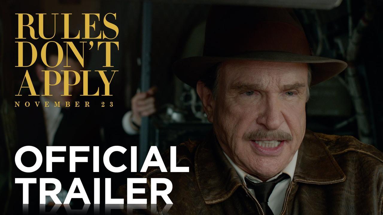 画像: Rules Don't Apply   Official Trailer [HD]   20th Century FOX youtu.be