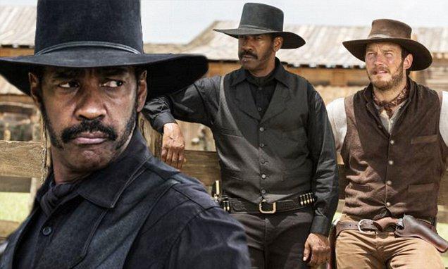 画像: Denzel Washington and Chris Pratt seen in The Magnificent Seven remake