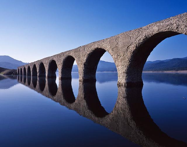 画像: 「タウシュベツ川橋梁」(北海道士幌町)西山芳一