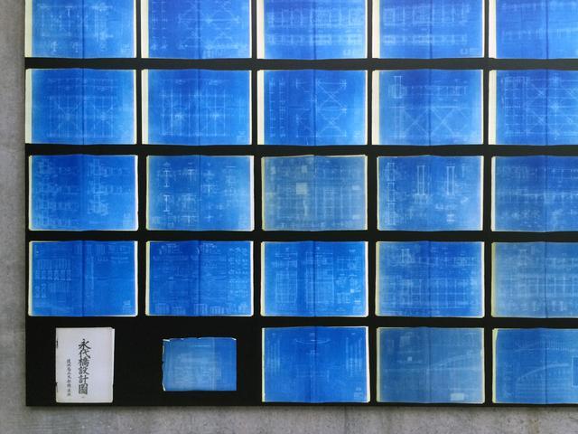 画像: 「BLUE WALL 永代橋設計圖(東京大学大学院工学系社会基盤学専攻所蔵)」 EAU(土木設計事務所)