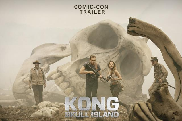 画像: KONG : SKULL ISLAND Comic-Con Trailer youtu.be