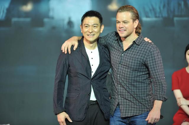 画像: http://www.laineygossip.com/Matt-Damon-Andy-Lau-Luhan-promote-The-Great-Wall/39956