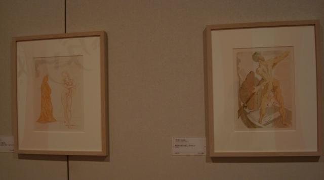 画像: 右:『神曲』(ダンテ・アリギュエーリ著)より「地獄編 地獄の河の渡し守カロン(第3歌)」1963年 photo ©cinefil