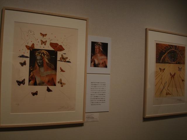 画像: 左:『シュルレアリスムの思い出』より「蝶に囲まれたダリのシュルレアリスム的肖像」1971年 photo © cinefil