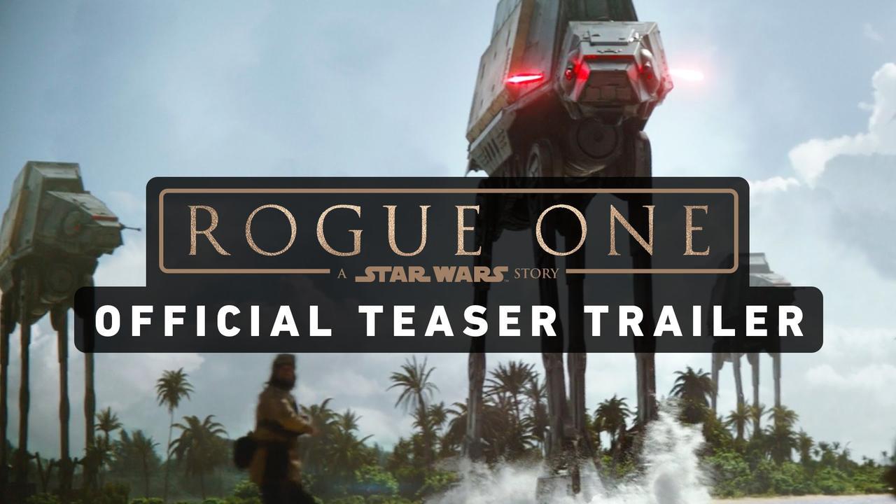 画像: ROGUE ONE: A STAR WARS STORY Official Teaser Trailer youtu.be