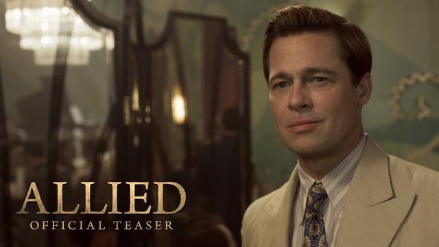 画像: Allied Teaser Trailer (2016) - Paramount Pictures youtu.be