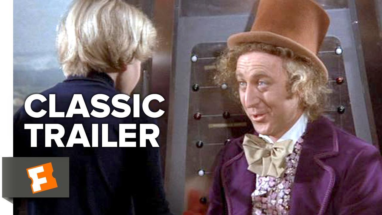 画像: Willy Wonka & The Chocolate Factory (1971) Official Trailer - Gene Wilder, Roald Dahl Movie HD youtu.be