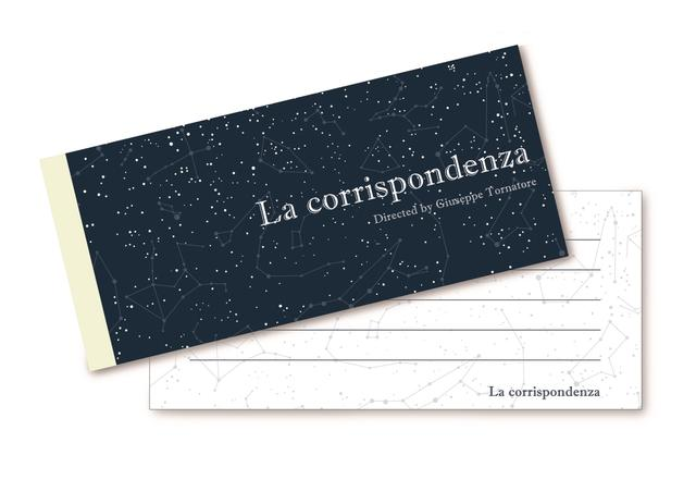 画像: ★ある天文学者の恋文 星座一筆箋プレゼント