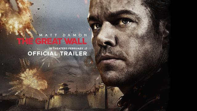 画像: The Great Wall - Official Trailer - In Theaters February 2017 (HD) youtu.be