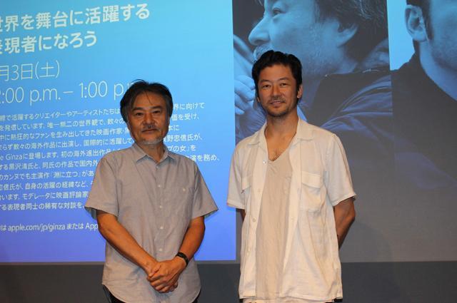 画像1: 黒沢清監督と浅野忠信