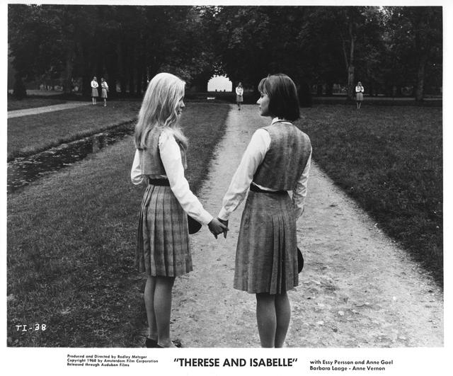画像: 『Therese et Isabelle』(67)ラドリー・メツガー監督