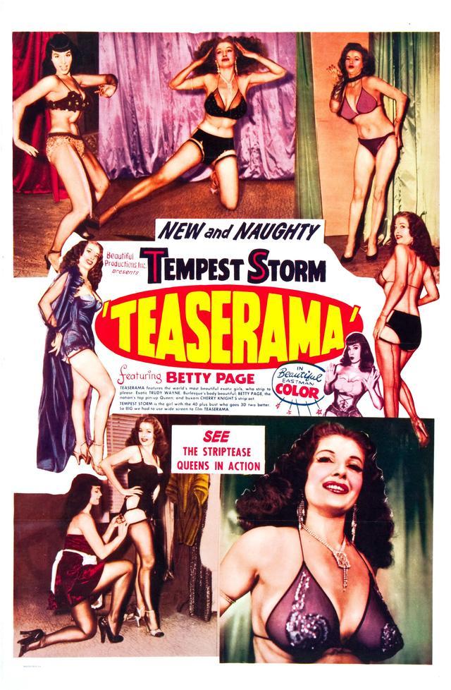 画像: 『Teaserama』(55)アーヴィング・クロウ監督