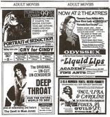 画像: 『Deep Throat』(72)公開時の雑誌広告
