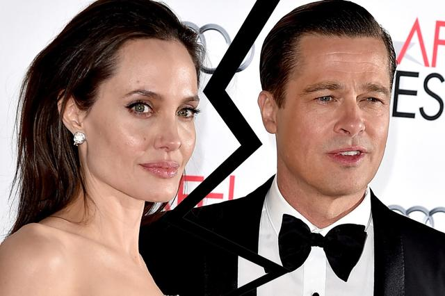画像: Angelina Jolie and Brad Pitt to divorce