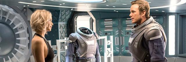 画像: Passengers Trailer Teaser Previews Lawrence & Pratt Romance