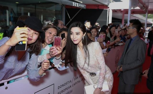 画像: サン・セバスティアン国際映画祭、「汚れ役」話題のファン・ビンビンが華麗に登場!―中国メディア