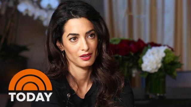 画像: Amal Clooney Takes ISIS To Trial Over Human Trafficking, Genocide | TODAY youtu.be