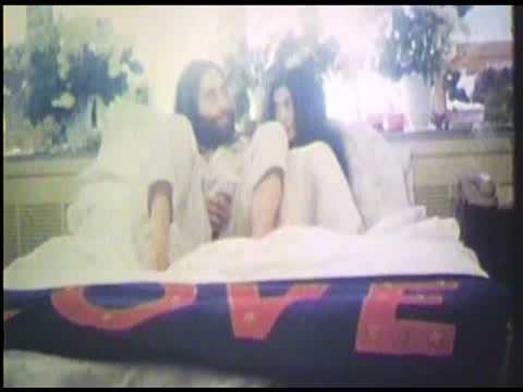 画像: Jonas Mekas: Bed-In John Lennon & Yoko Ono youtu.be